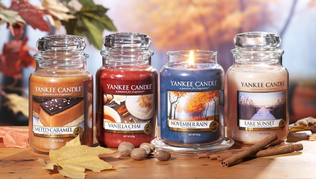 Yankee Candle - Fragranze autunnali