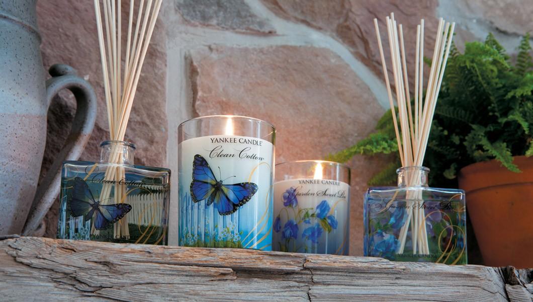 Yankee Candle - Profumatori Clan Cotton e Garden Sweet