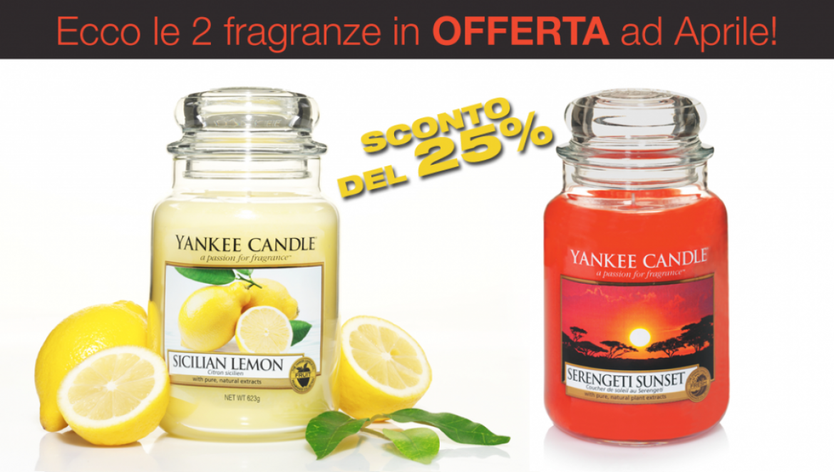 OFFERTA Yankee Candle