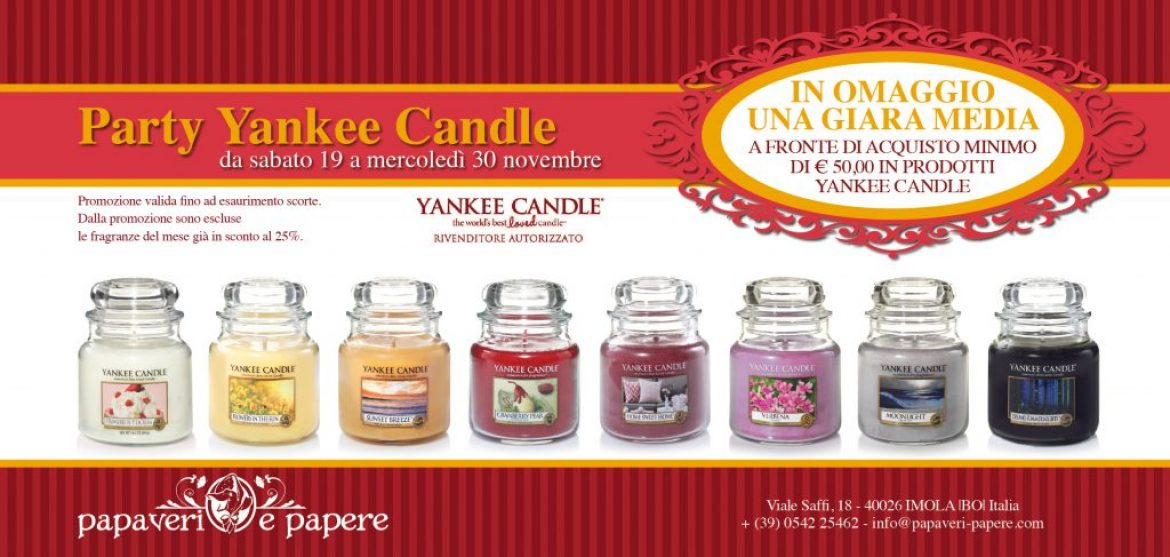 Party Yankee Candle
