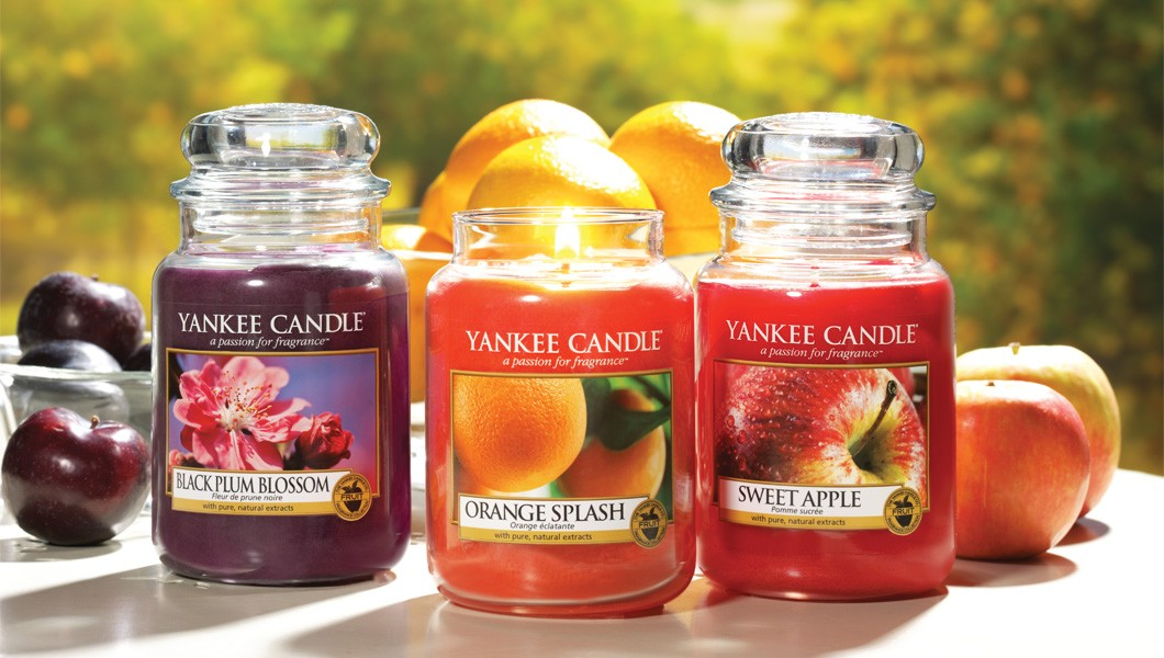 Yankee Candle- Fragranze fruttate